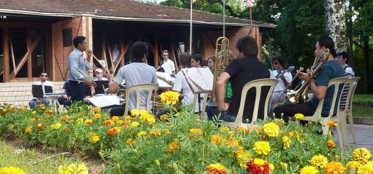 Banda Municipal divulga atividades do segundo semestre