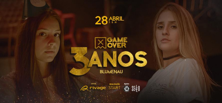 Game Over a três anos na Rivage