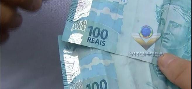 Hoje é preso com dinheiro falso na Rua São Rafael