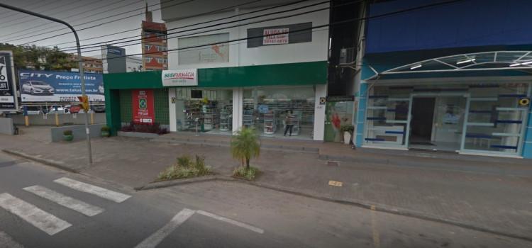 Três covardes assaltam Farmácia Sesi da Rua Amazonas