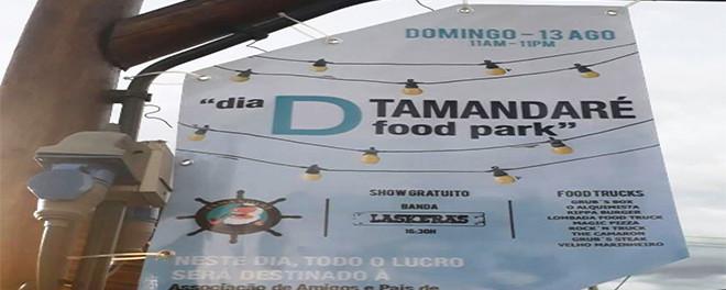 Dia D Tamandaré Food Park terá lucro revertido para associação beneficente