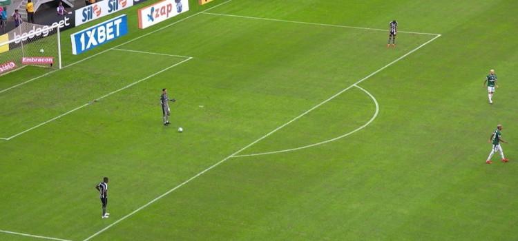 Botafogo pedirá anulação de jogo contra o Palmeiras