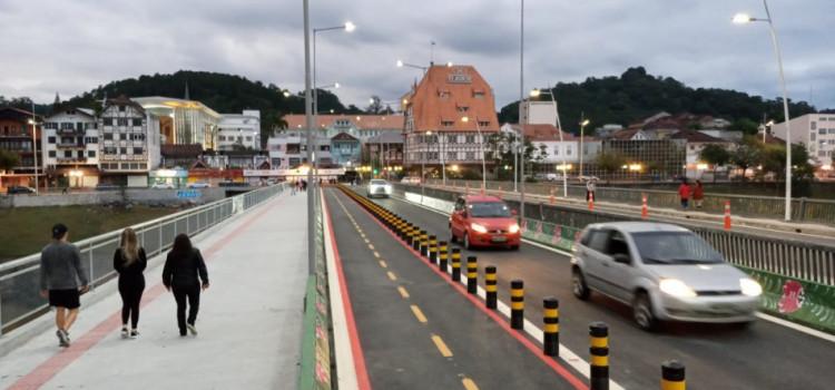 Duplicação da Ponte do Centro é aberta ao trânsito