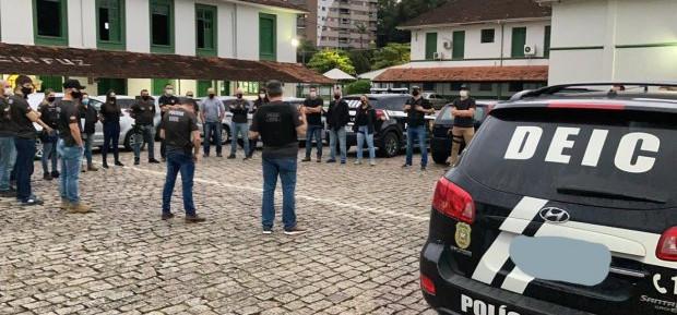 Polícia Civil combate lavagem de dinheiro de grupo