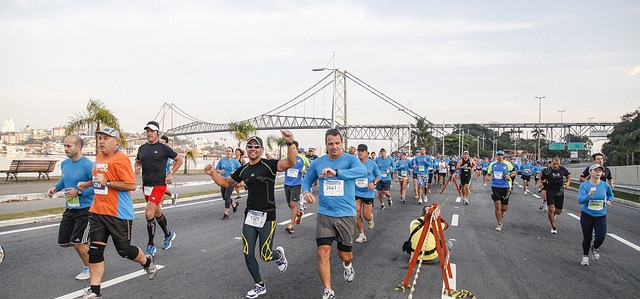 Meia Maratona de Jurerê reuniu 1.200 atletas ontem
