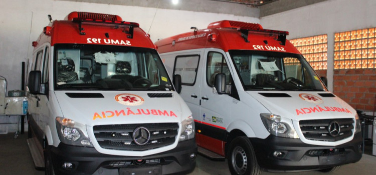 Blumenau terá duas novas ambulâncias para atendimento do Samu
