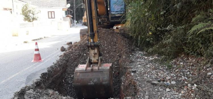 Rua da Glória recebe obra de microdrenagem