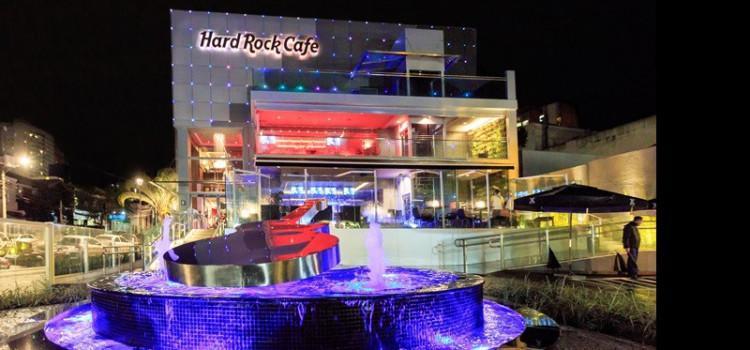 Hard Rock Cafe Curitiba é destaque no sul