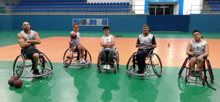 BC apresenta nova equipe de Handebol em Cadeira de Rodas