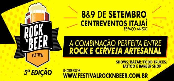 Rock'n Beer acontece no próximo fim de semana em Itajaí