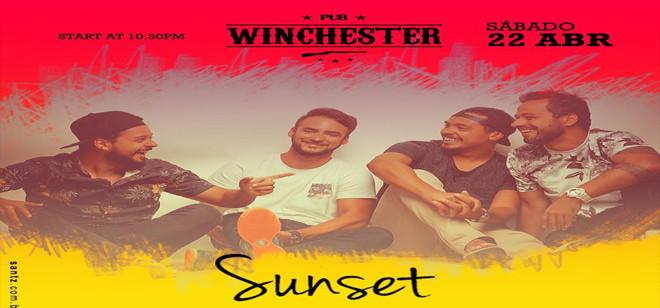 Winchester Pub recebe a banda Sunset neste sábado
