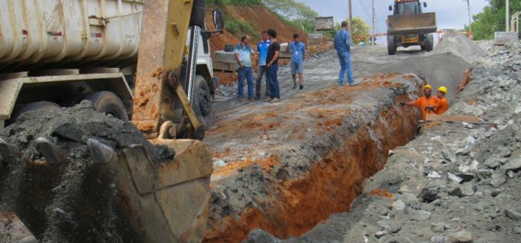 Samae divulga relatório trimestral de obras de expansão de rede de água