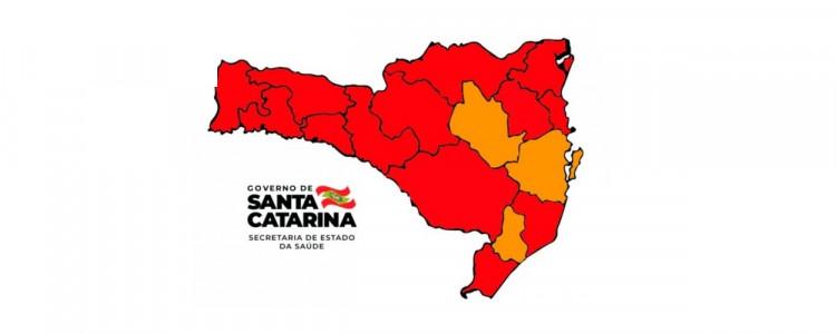 Matriz de Risco aponta 13 regiões em estado gravíssimo
