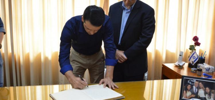 Marcos da Rosa assume interinamente a Prefeitura