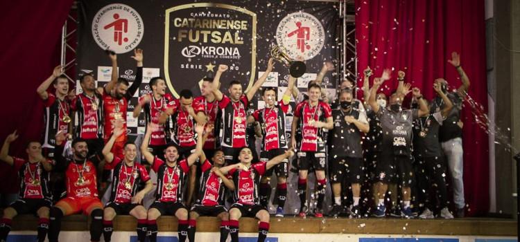 Joinville vence Campeonato Catarinense de Futsal
