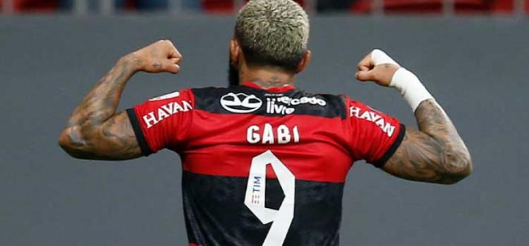 Gabigol entra no top 5 dos artilheiros brasileiros na Libertadores