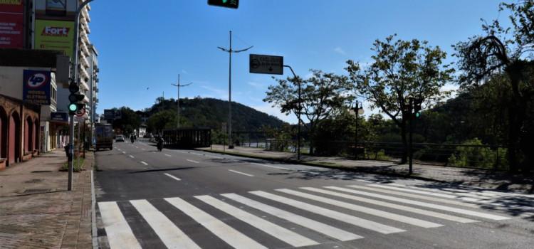 Quarta faixa da Beira-Rio entra em operação a partir desta segunda