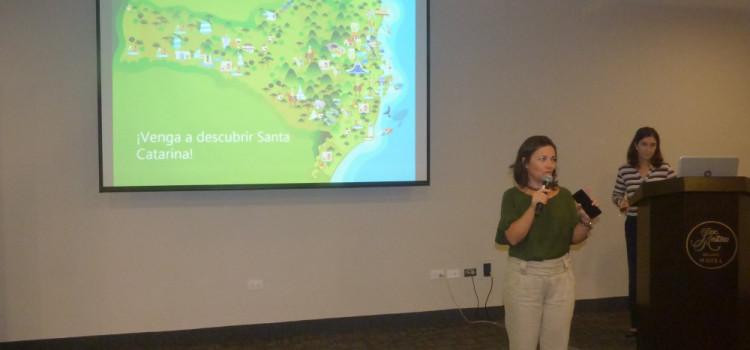 SC participa de evento para operadoras e agências no Peru