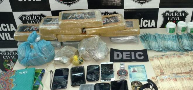 Polícia Civil apreende droga zumbi que induz ao canibalismo