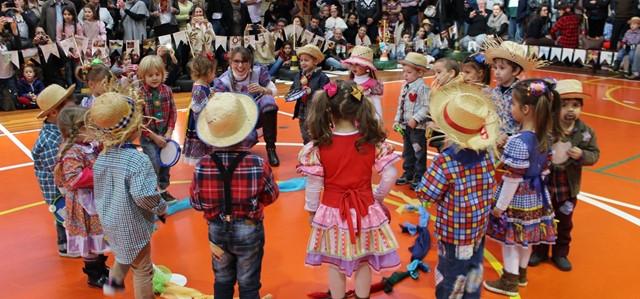 Escola Barão promove Festa Junina com atrações para toda a comunidade