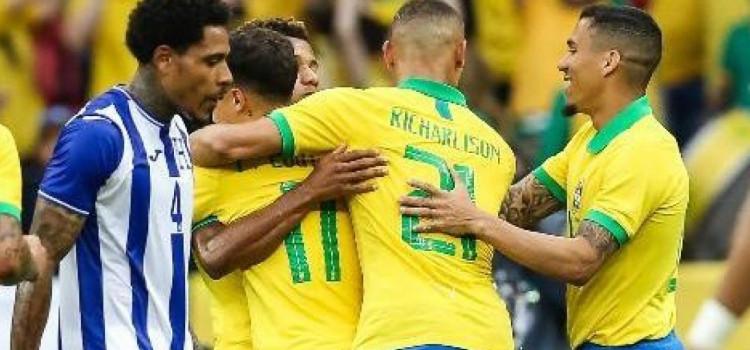Brasil vence Honduras com sua maior goleada desde 2012