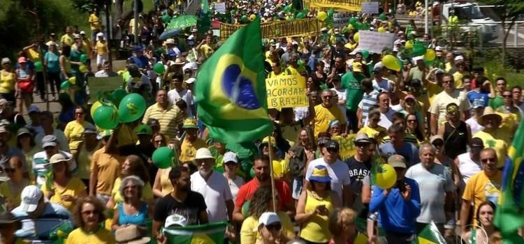 Cidades brasileiras têm atos a favor da Lava Jato
