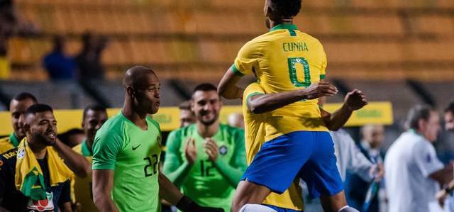 Brasil vence Chile em amistoso Seleção Sub-23