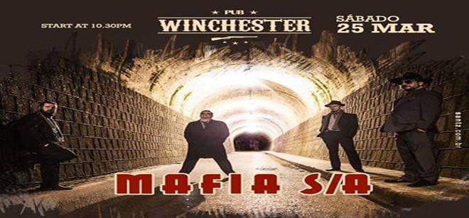 Sábado tem Mafia S/A no palco do Winchester