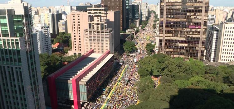 Cidades brasileiras registram atos recorde em apoio ao governo Bolsonaro