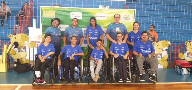 Paradesporto de Blumenau participa do Circuito Catarinense de Bocha Paralímpica