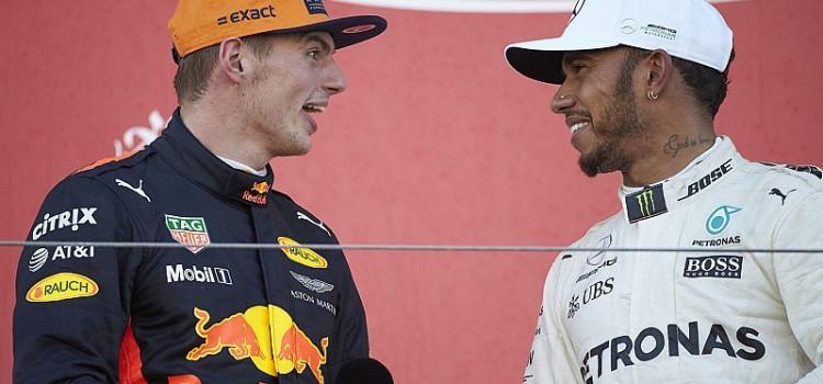Verstappen reclama por falta de punição a Hamilton