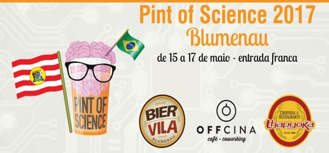 Blumenau recebe pela primeira vez o Pint of Science