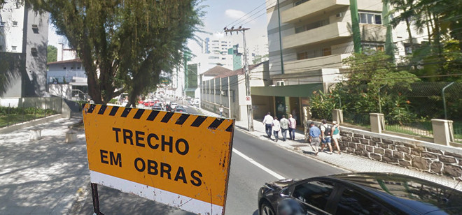 Manutenções alteram trânsito em trecho da Rua São Paulo