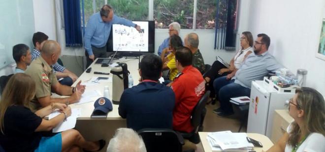 Defesa Civil agenda simulado de inundação para o mês de abril