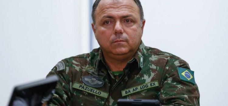 Pazuello planeja conversas com governadores por regiões