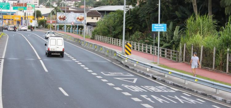 Seterb adequa sinalização nas ruas Humberto de Campos e Marechal Deodoro
