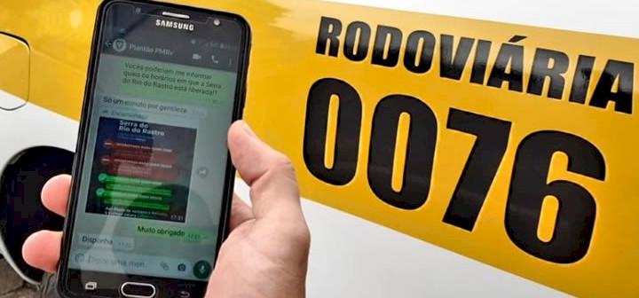 Rodovias estaduais contam agora com atendimento por WhatsApp