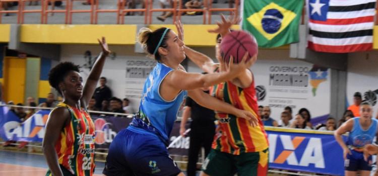 Basquete feminino volta do Nordeste com uma vitória e uma derrota