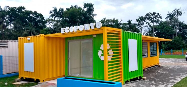 Ecoponto de Ascurra será inaugurado hoje