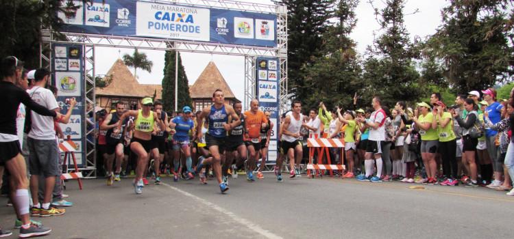 Inscrições para Meia Maratona Caixa de Pomerode encerram dia 12