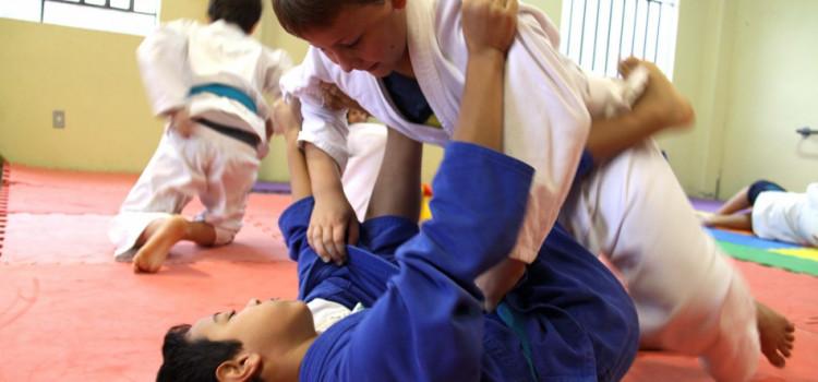 Blumenau sediou competições de Judô