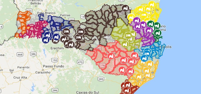Apresentados mapas digitais com informações turísticas de todas as regiões