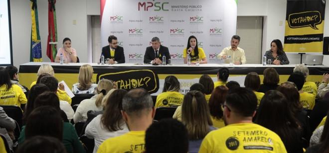 Ministério Público de SC lança campanha de prevenção ao suicídio