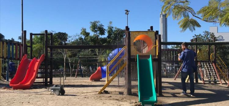 Parque Ramiro Ruediger passa por revitalização