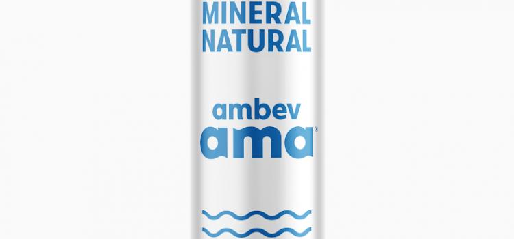 Ambev vai lançar a água em lata do Brasil
