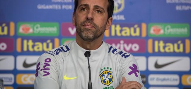 Edu Gaspar deixará a seleção pelo Arsenal