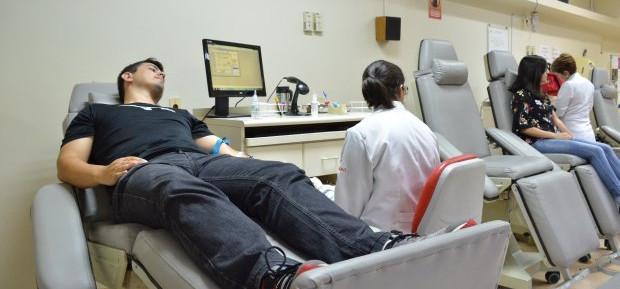Hemosc registra queda em doações de sangue