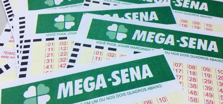 Prêmio da Mega-Sena acumulado é o 5° maior da história