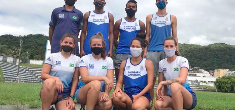 Atletas de BC disputam Troféu Brasil Caixa de Atletismo