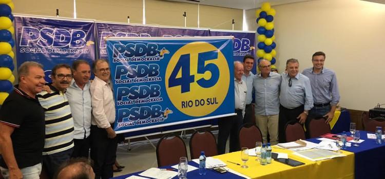 PSDB de Santa Catarina faz a maior mobilização da sua história
